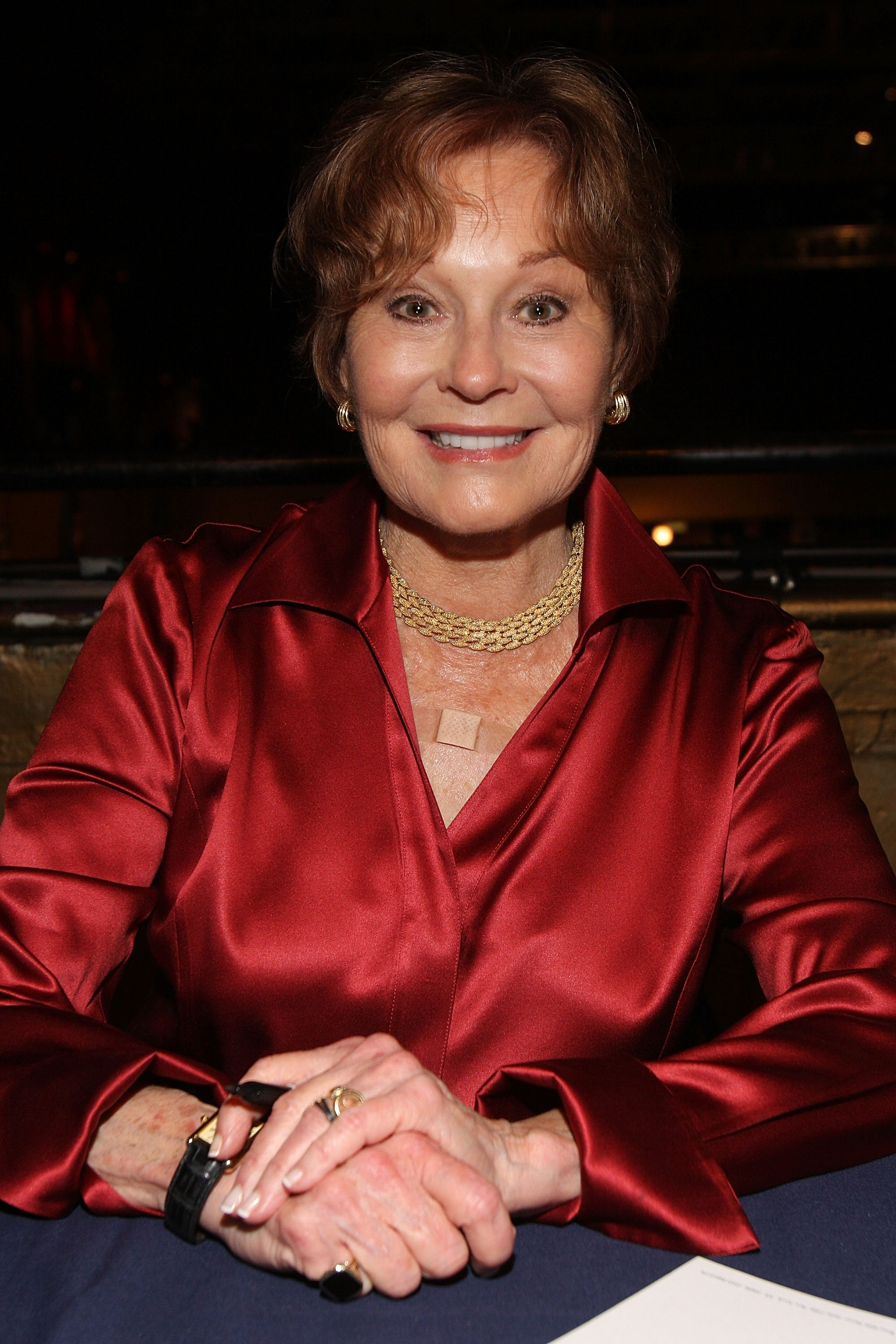 Marj Dusay attends the 23rd Annual Broadway Flea Market & Grand Auction at Roseland Ballroom on September 27, 2009, in New York City. | Source: Getty Images.