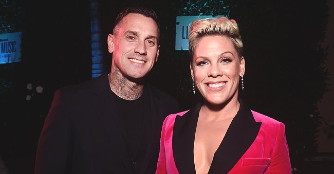Pink's Husband Carey Hart Shares Video of the Singer and Their Children on a Motorcycle Outing
