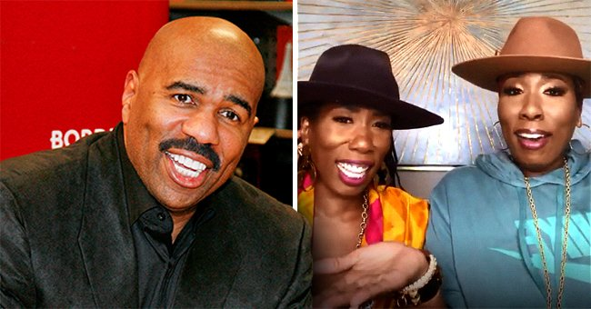 Steve Harvey's Twin Daughters Karli and Brandi Talk 'Living, Loving and Laughing' in a Video