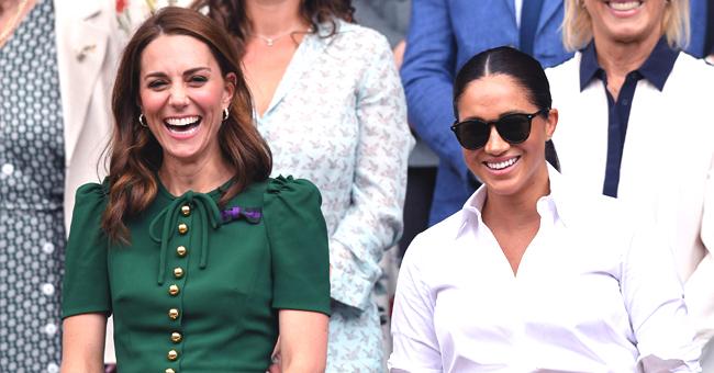 Comparaison des sorties de Wimbledon, Kate Middleton et Meghan Markle entre 2018 et 2019