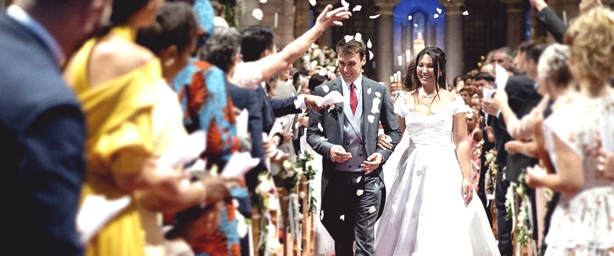 Le petit-fils de Grace Kelly, Louis Ducruet, s'est marié avec Marie Chevallier à Monaco