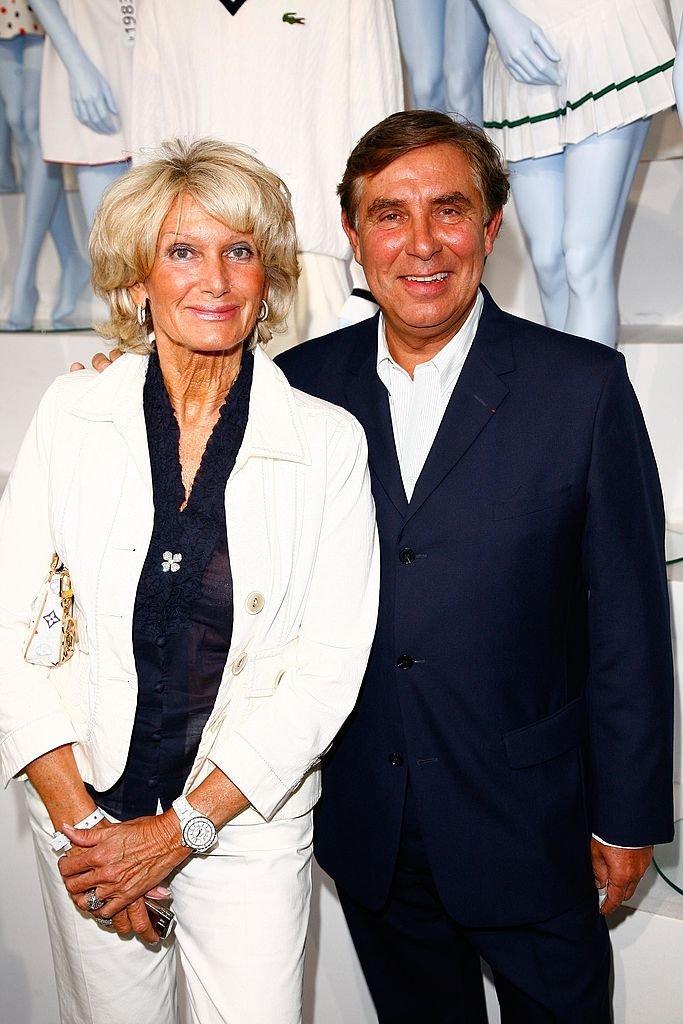 Evelyne Jarre et Jean-Pierre Foucault en 2008. l Source : Getty Images