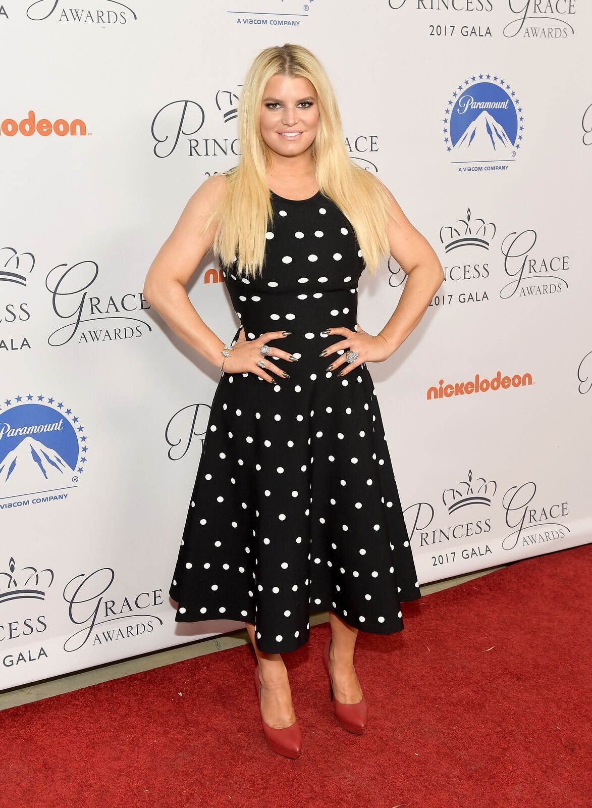 Jessica Simpson attends the 2017 Princess Grace Awards Gala Kick Off Event with a special tribute to Stephen Hillenberg at Paramount Studios on October 24, 2017 in Hollywood, California | Photo: Getty Images
