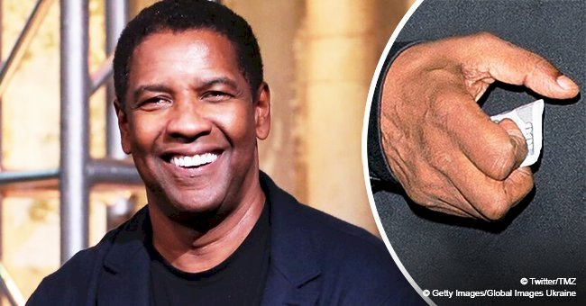 Denzel Washington is in the spirit of giving as he tips valet $100 after dinner in Beverly Hills