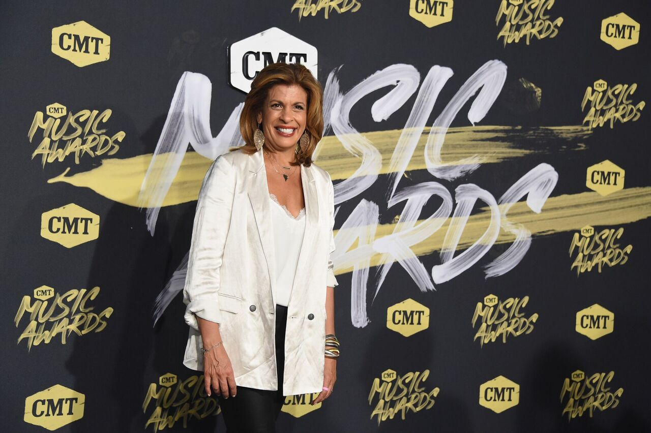 Hoda Kotb at the CMT Music Awards in Nashville, Tennessee on June 6, 2018 | Photo: Getty Images