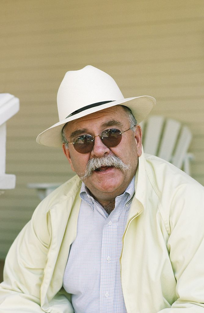 """Wilford Brimley in character as Gus Witherspoon in """"Our House"""" in 1986 