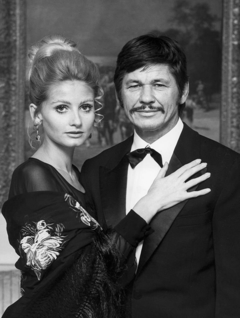 Charles Bronson and Jill Ireland in November 1970 in Paris, France   Photo: Getty Images