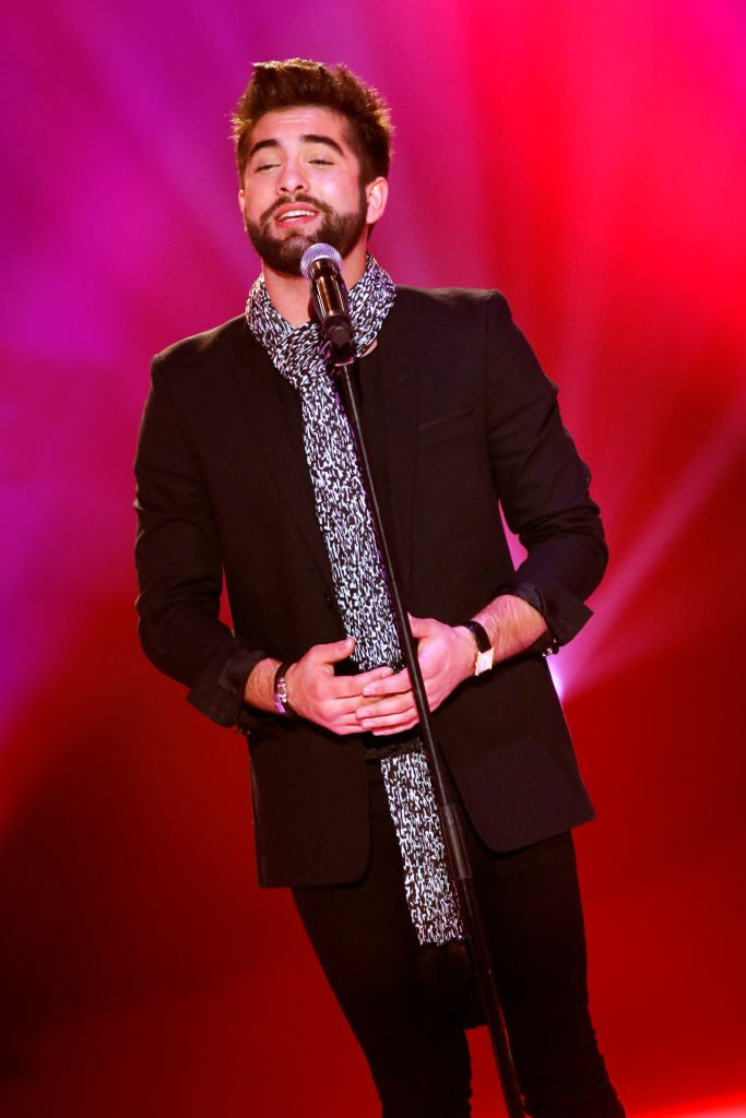 Le chanteur Kendji Girac | source : Getty images
