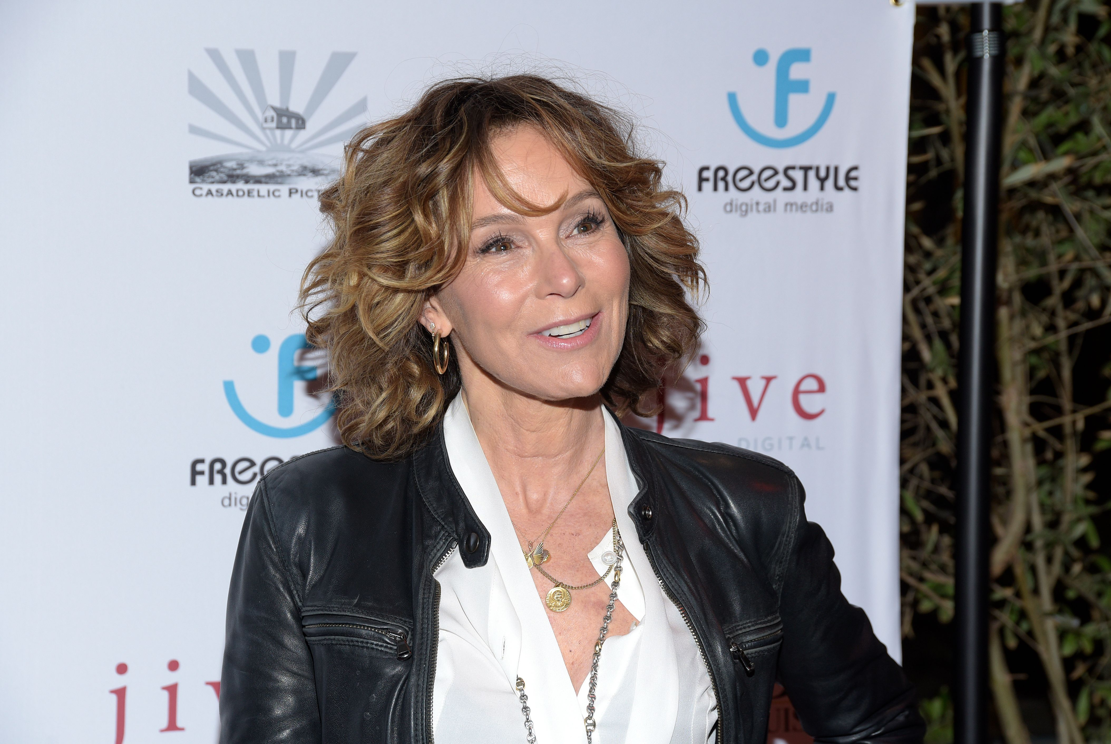 """Jennifer Grey attends the Los Angeles premiere of """"Untogether"""" at Frida Restaurant on February 08, 2019 in Sherman Oaks, California. 