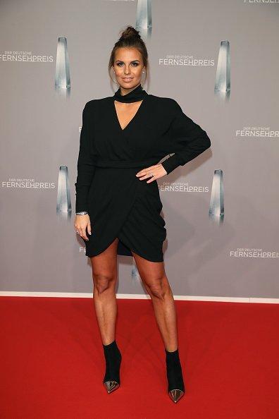Laura Woltorra, Deutscher Fernsehpreis, 2019 | Quelle: Getty Images