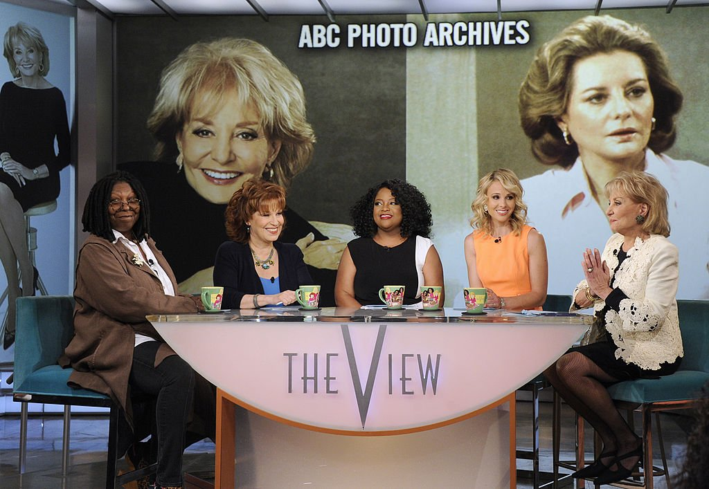 Broadcasting legend Barbara Walters says goodbye to daily television with her final co-host appearance on THE VIEW on the Disney General Entertainment Content via Getty Images Television Network, in 2014.   Source: Getty Images