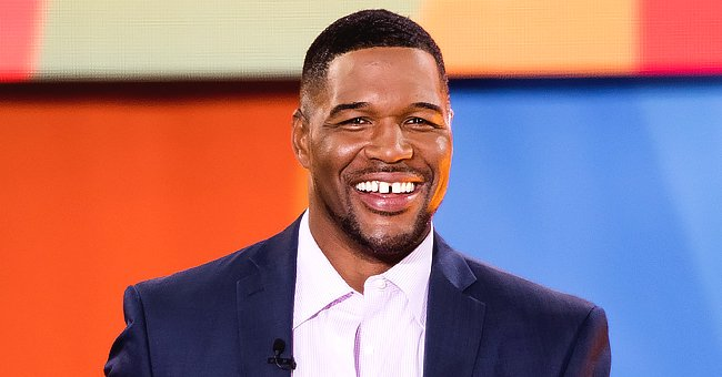 Michael Strahan's Twin Daughters Look like Dad as They Flaunt Long Braided Hair in New Photo