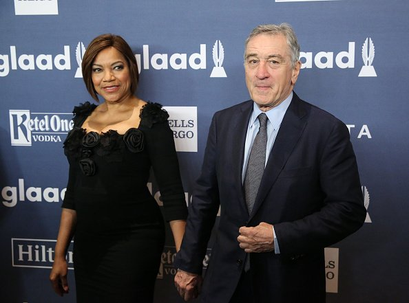 Robert De Niro and Grace Hightower attend the 27th Annual GLAAD Media Awards on May 14, 2016, in New York City. | Photo: Getty Images