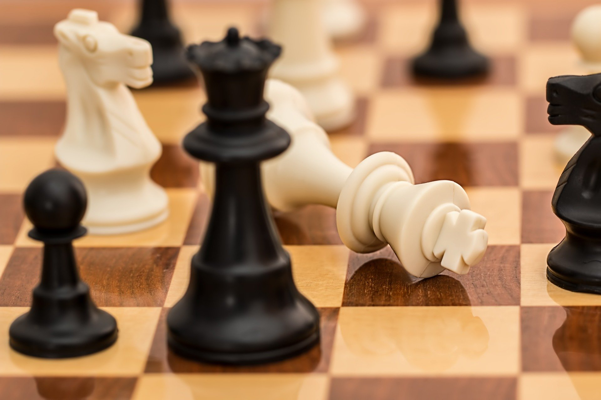 Pictured - A chess board game   Source: Pixabay