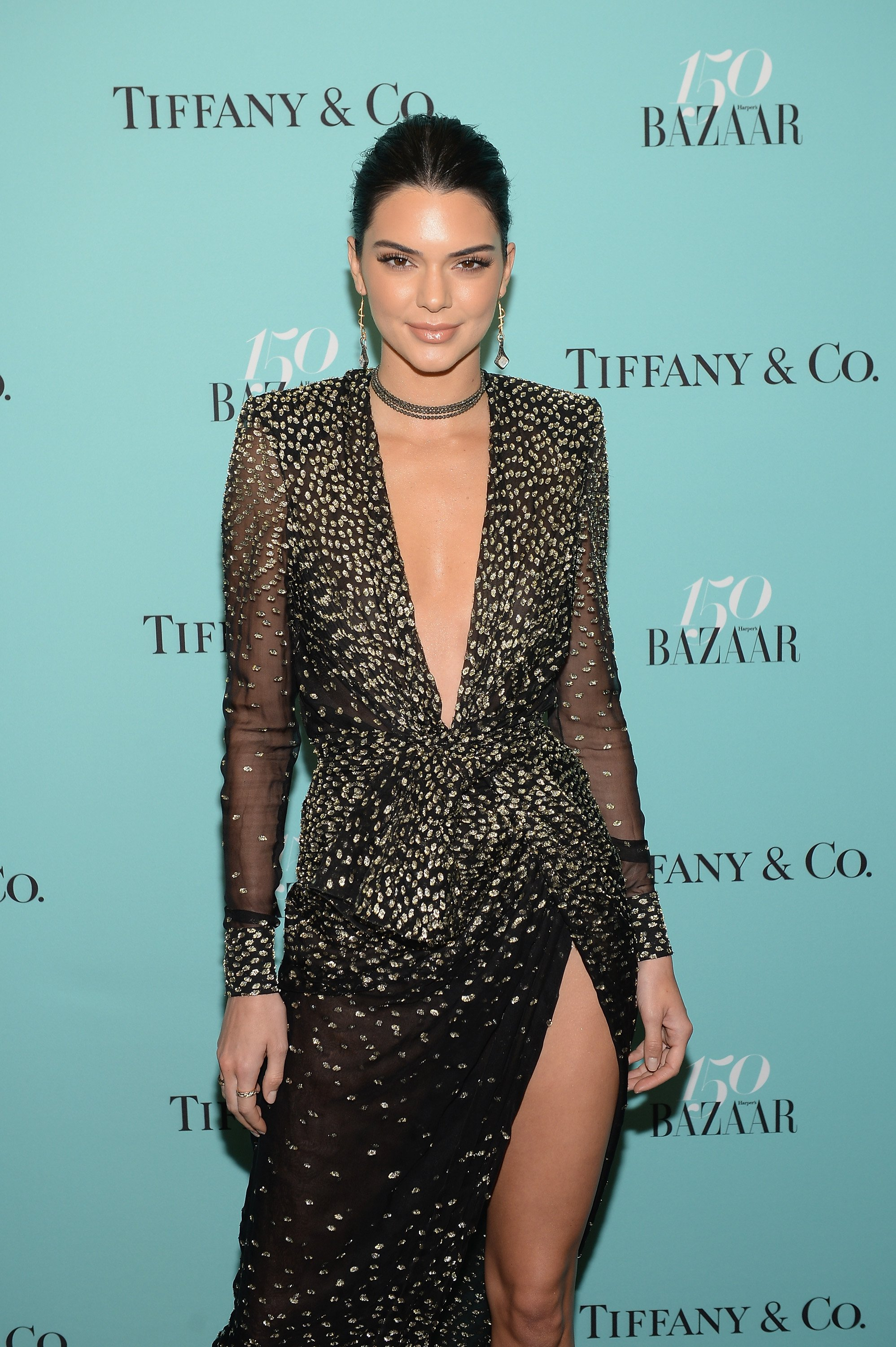 Kendall Jenner at Harper's BAZAAR 150th Anniversary Event presented with Tiffany & Co at The Rainbow Room on April 19, 2017. | Photo: Getty Images