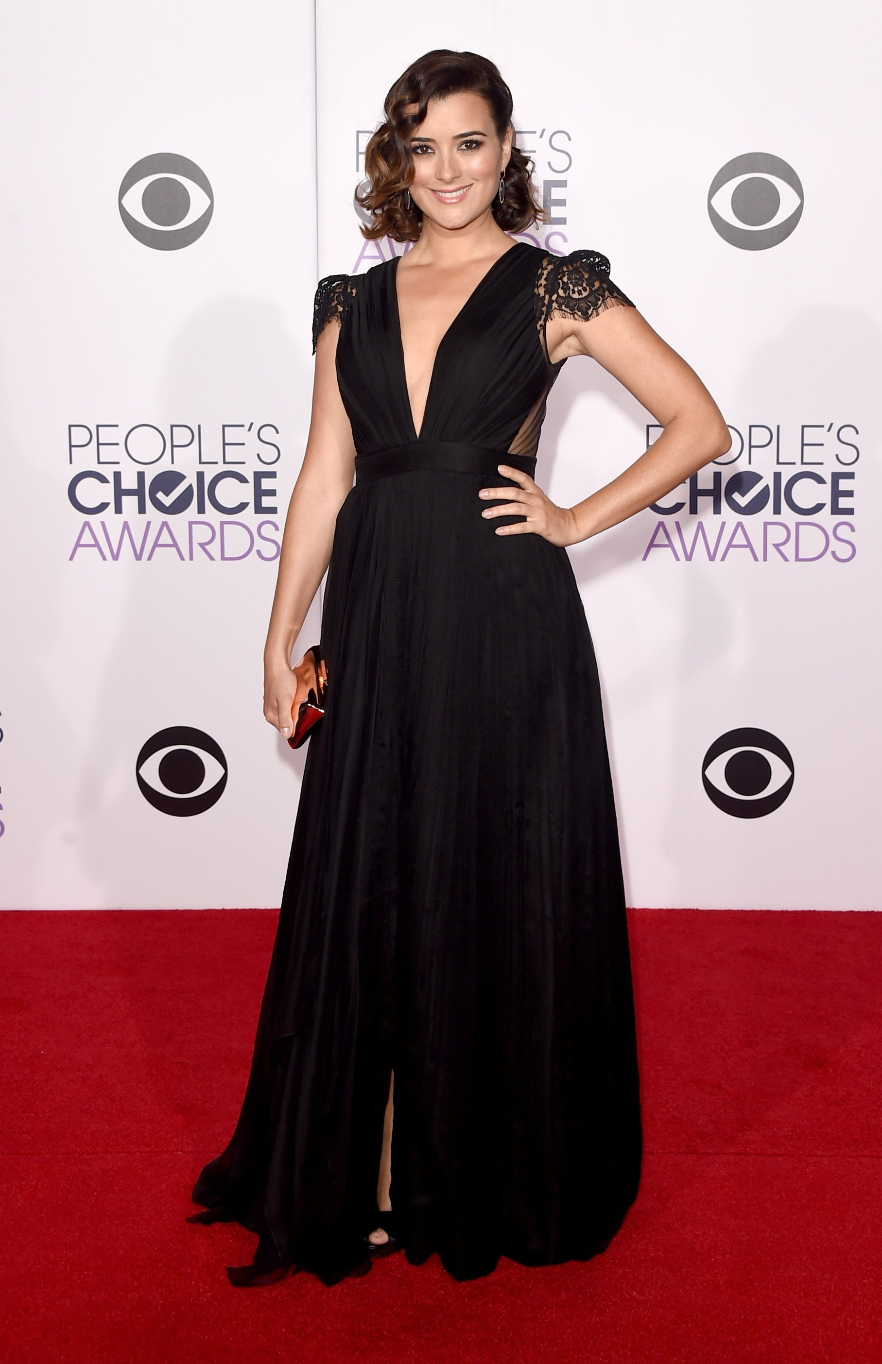Cote de Pablo at the People's Choice Awards | Photo: Getty Images