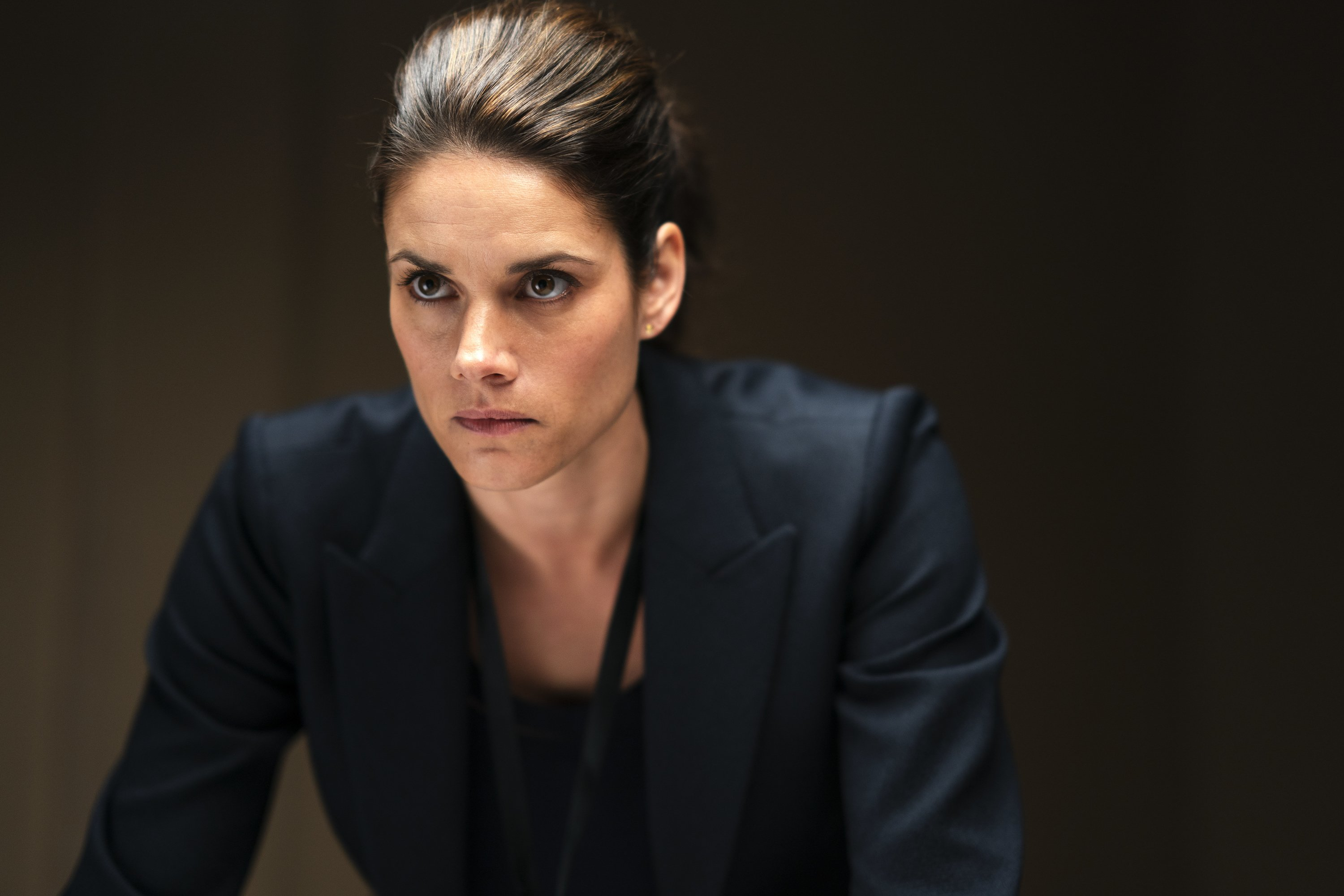 Missy Peregrym on the set of the crime drama series FBI on the CBS Television Network | Photo: Getty Images