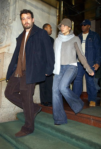 Ben Affleck and Jennifer Lopez December 12, 2003 in New York City. | Photo: Getty Images
