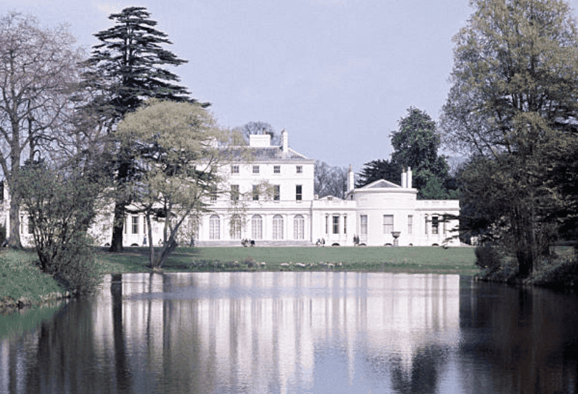 Frogmore House as it overlooks a lake in the grounds of Home Park, on January 1, 1970, in Windsor, England | Source: Ray Bellisario/Popperfoto via Getty Images