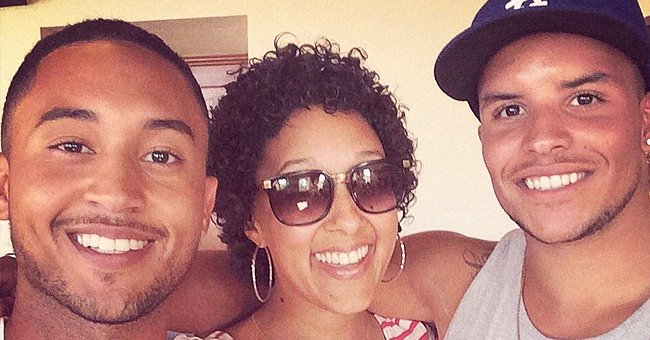 Fans Divided in Comments after Seeing Tamera Mowry's Son Smiling with Both Uncles Outside