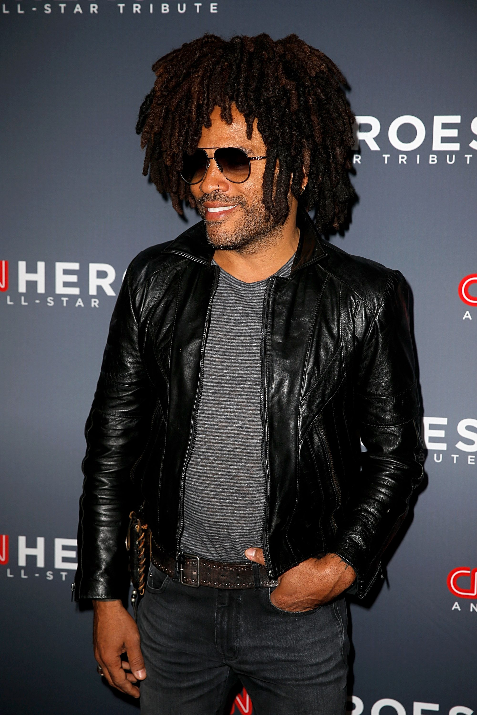 Lenny Kravitz at the 12th Annual CNN Heroes: An All-Star Tribute at American Museum of Natural History on December 09, 2018 | Photo: Getty Images