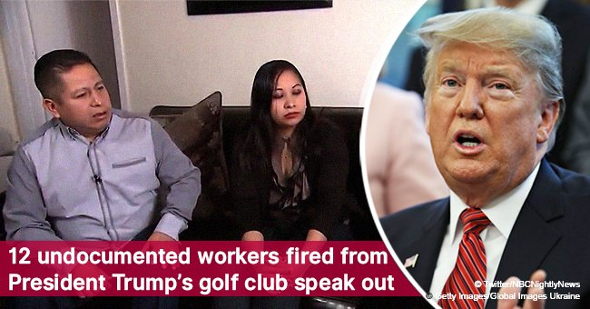 12 undocumented workers fired from President Trump's golf club speak out
