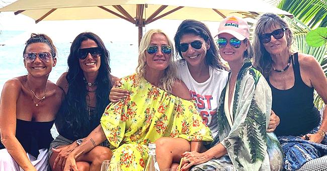 Laeticia Hallyday passe un très bon moment en compagnie de ses amis proches (Photo)