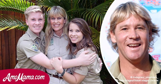 Steve Irwin's father found a touching note from his son, a decade after his tragic death
