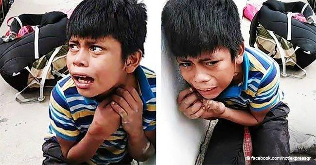 Niño de 11 años estuvo al borde de la muerte cuando le pegaron por robar agua en un mercado