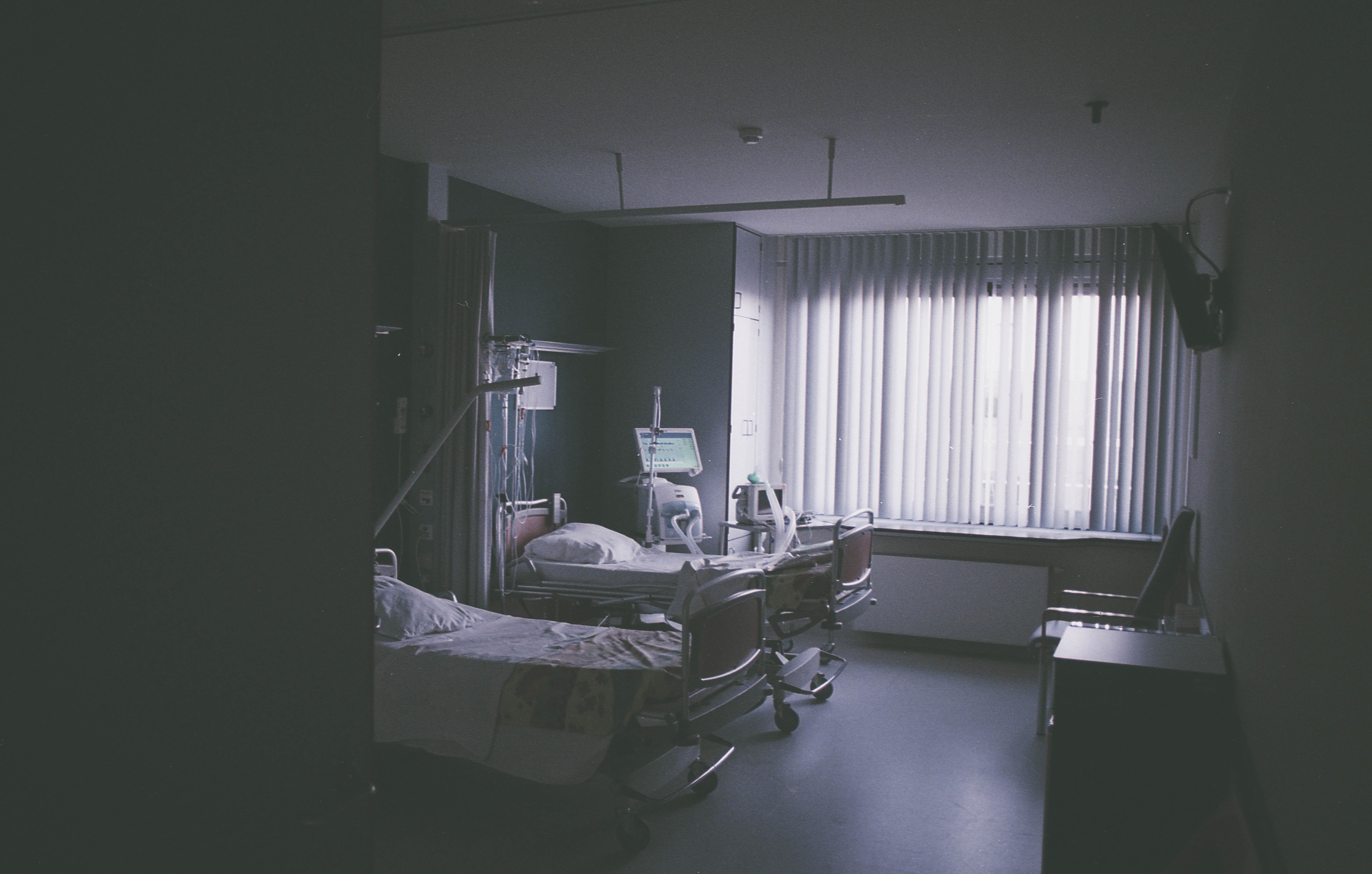 Hospital beds. | Source: Pixabay