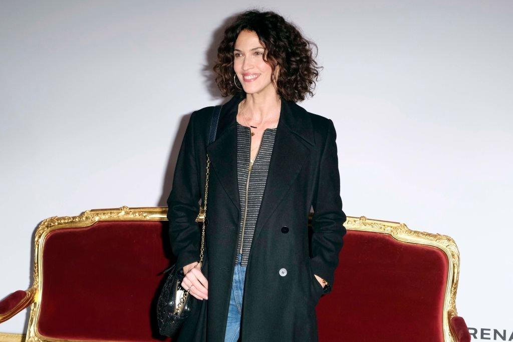 La comédienne Linda Hardy à Paris au mois de janvier 2019. l Source : Getty Images