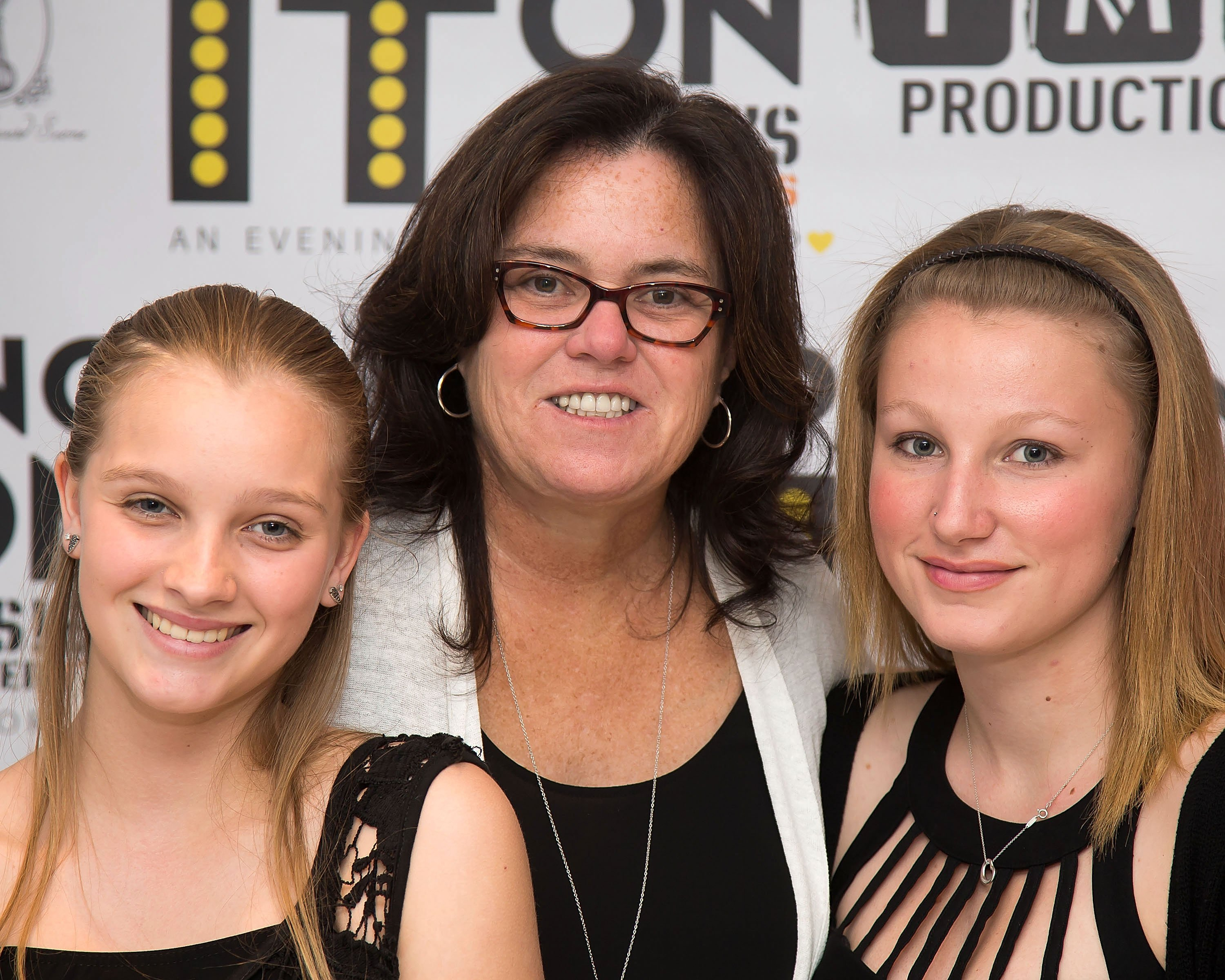 Vivienne Rose O'Donnell, Rosie O'Donnell and Chelsea Belle O'Donnell attend the 5th Annual Rosie's Theater Kids Spring Benefit at The Alvin Ailey Citigroup Theater on May 17, 2015, in New York City. | Source: Getty Images.