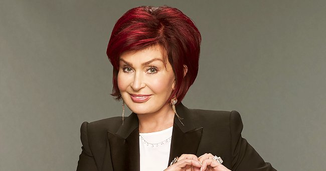 Sharon Osbourne & Her 4 Adorable Dogs Break Social Distancing Rule Sitting Together at a Table