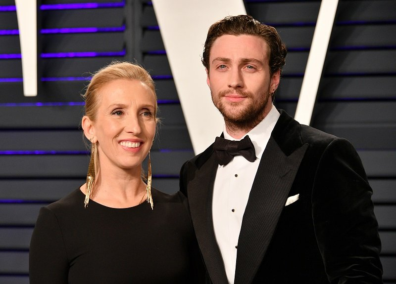 Sam Taylor-Johnson and Aaron Taylor-Johnson on February 24, 2019 in Beverly Hills, California   Photo: Getty Images