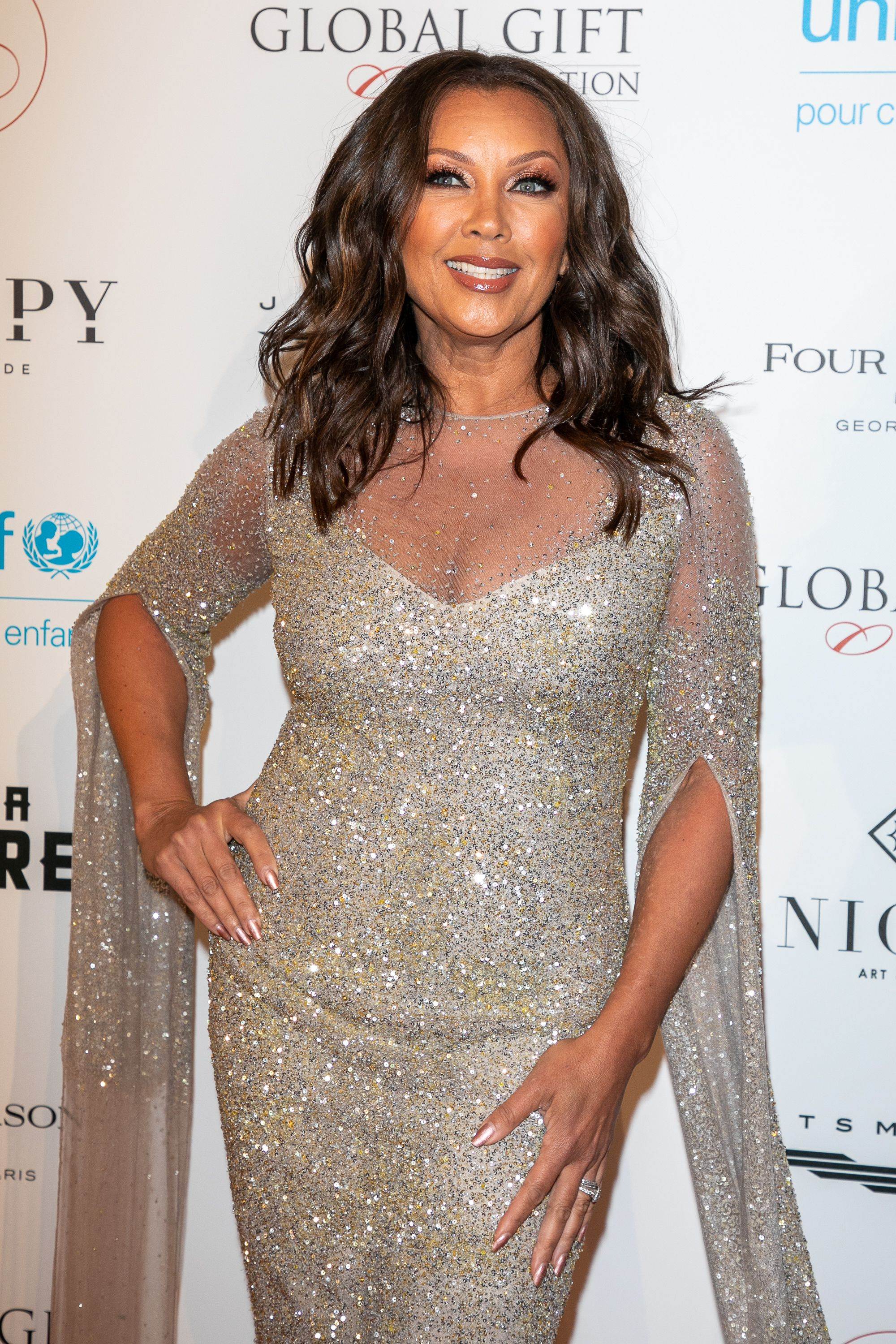 Vanessa Williams at the Global Gift Gala on April 25, 2018 in Paris.   Photo: Getty Images
