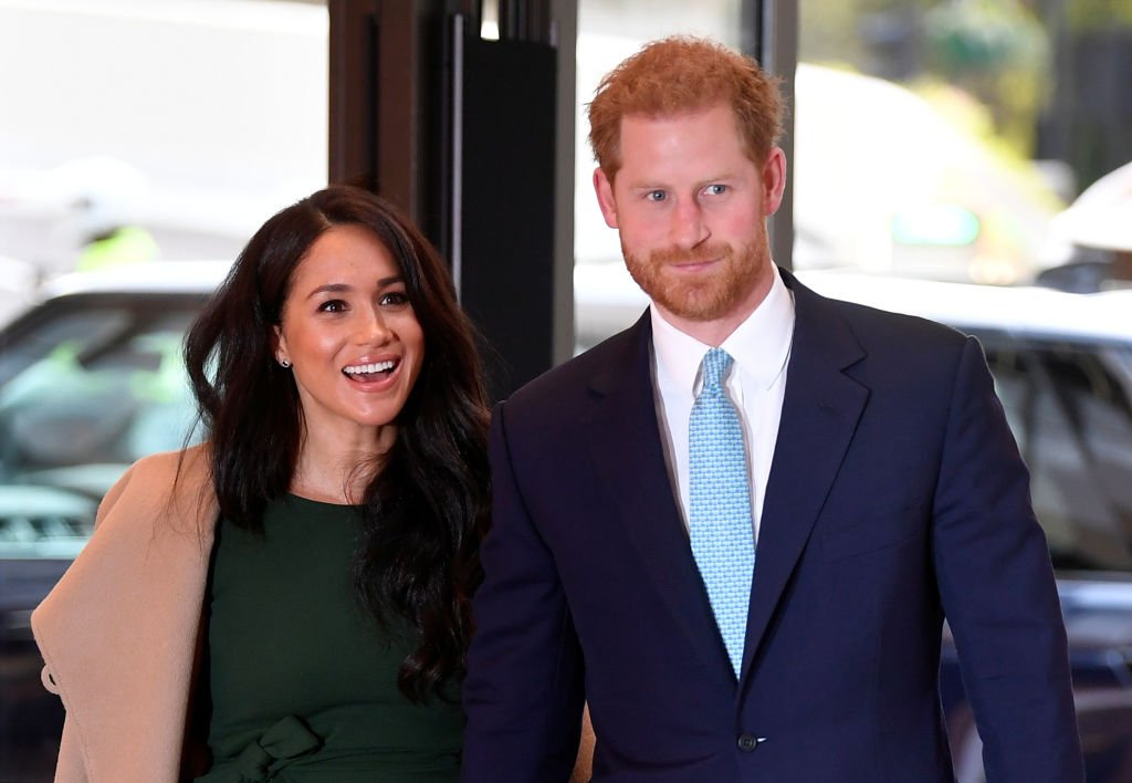 Prince Harry and Meghan attend the WellChild awards at Royal Lancaster Hotel. | Photo: Getty Images