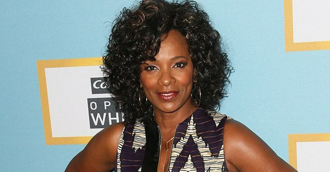 Vanessa Bell Calloway from 'Coming to America' Flaunts Her Perfect Skin and Classy Braided Hair