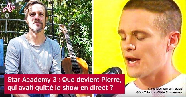 Pierre (Star Academy 3): qu'est-il arrivé à un candidat populaire qui a quitté l'émission en direct?