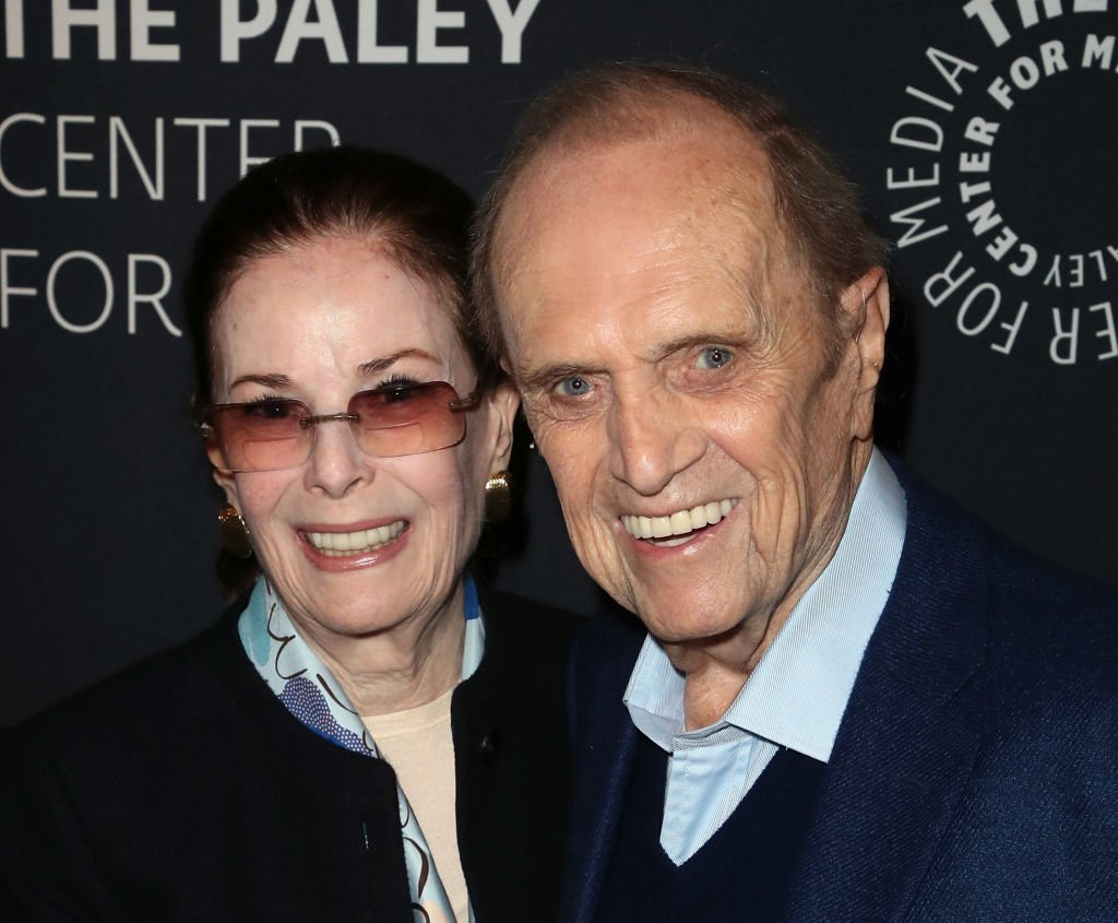 "Bob Newhart and wife Ginny Newhart at An Evening with Bob Newhart: A ""Newhart"" Celebration on April 26, 2018 