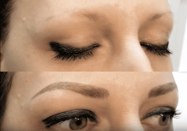 Microblading des sourcils | Image : Wikimedia Commons