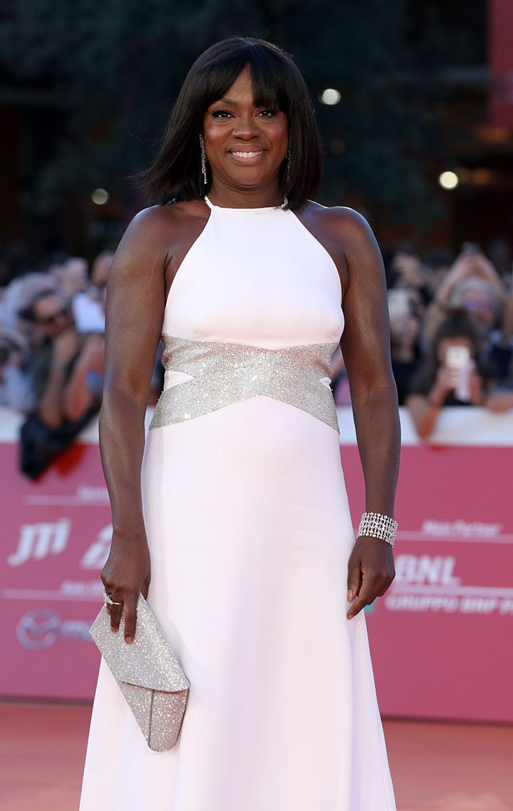Viola Davis at the red carpet during the 14th Rome Film Festival on October 26, 2019. | Photo: Getty Images