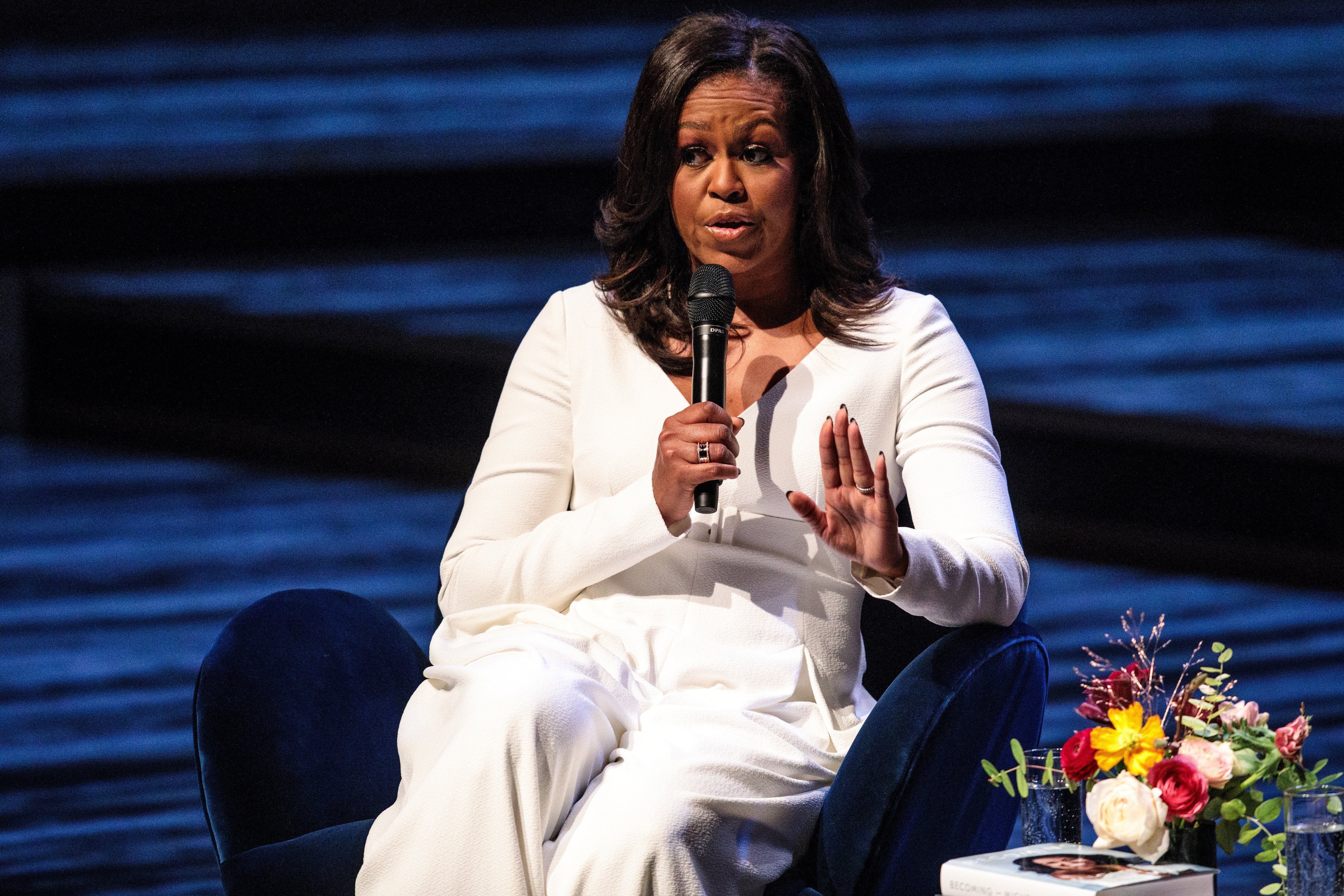 Michelle Obama at The Royal Festival Hall in London, England | Photo: Getty Images