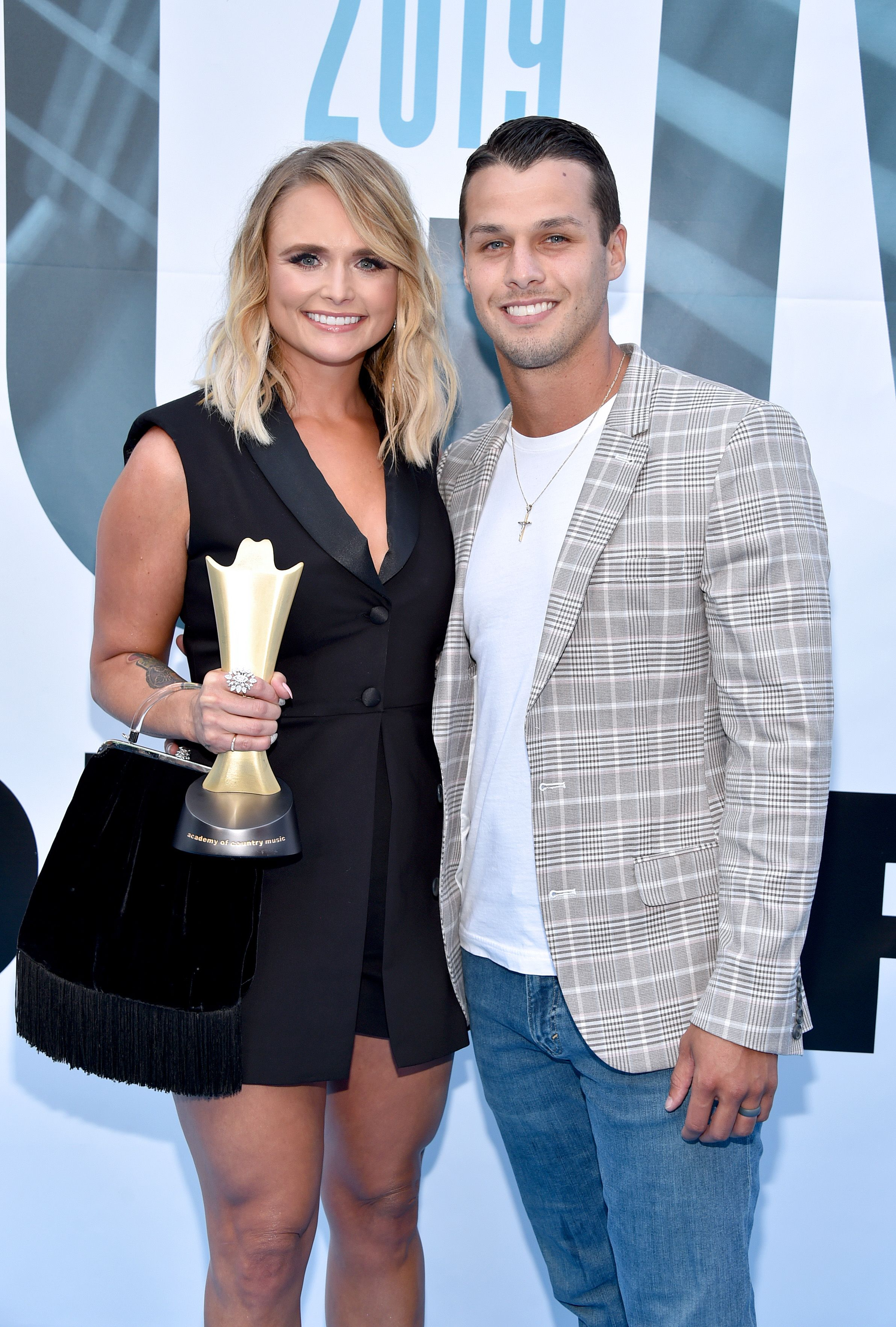 Miranda Lambert and Brendan McLoughlin at the 13th Annual ACM Honors on August 21, 2019, in Nashville, Tennessee | Photo: John Shearer/Getty Images