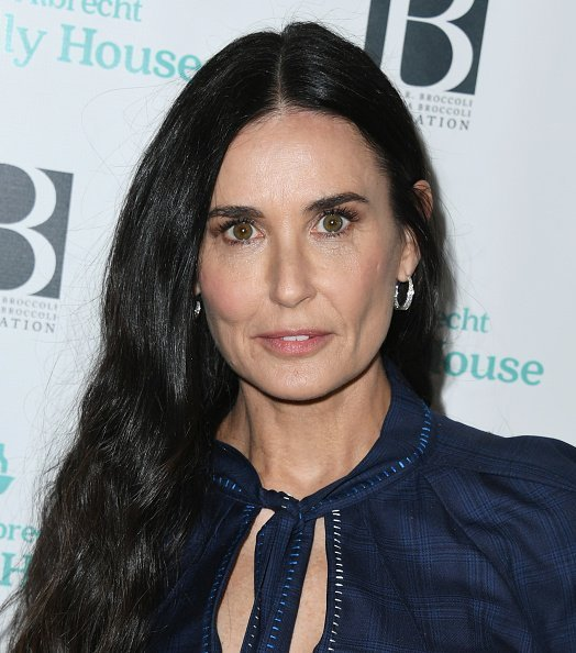 Demi Moore at The Beverly Hilton Hotel on October 26, 2019 | Photo: Getty Images