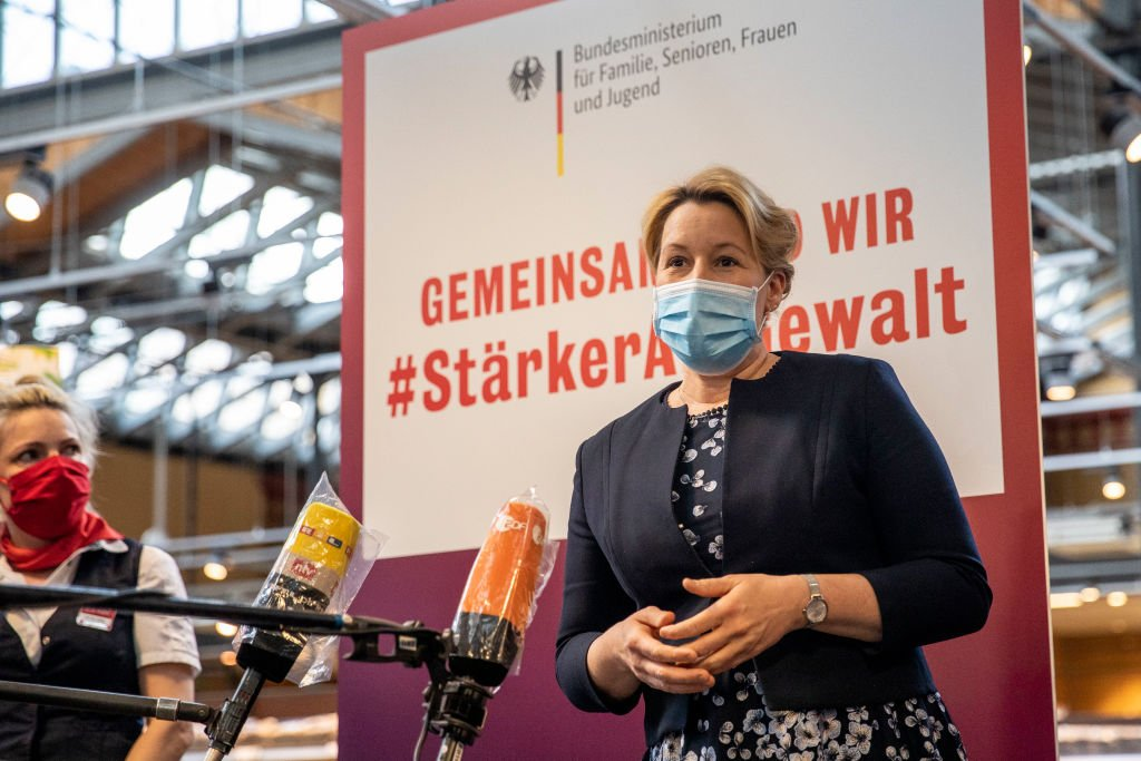 Franziska Giffey, April 2020, Berlin |  Source: Getty Images