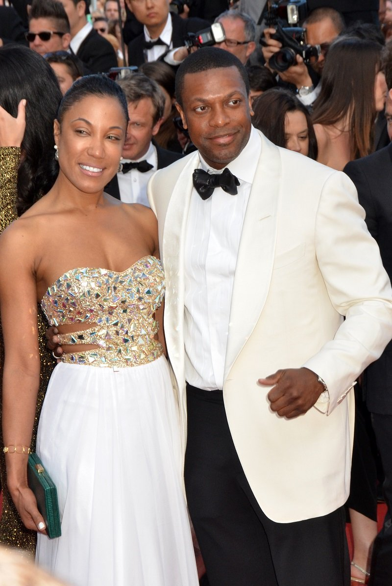 Azja Pryor and Chris Tucker on May 21, 2013 in Cannes, France | Photo: Getty Images