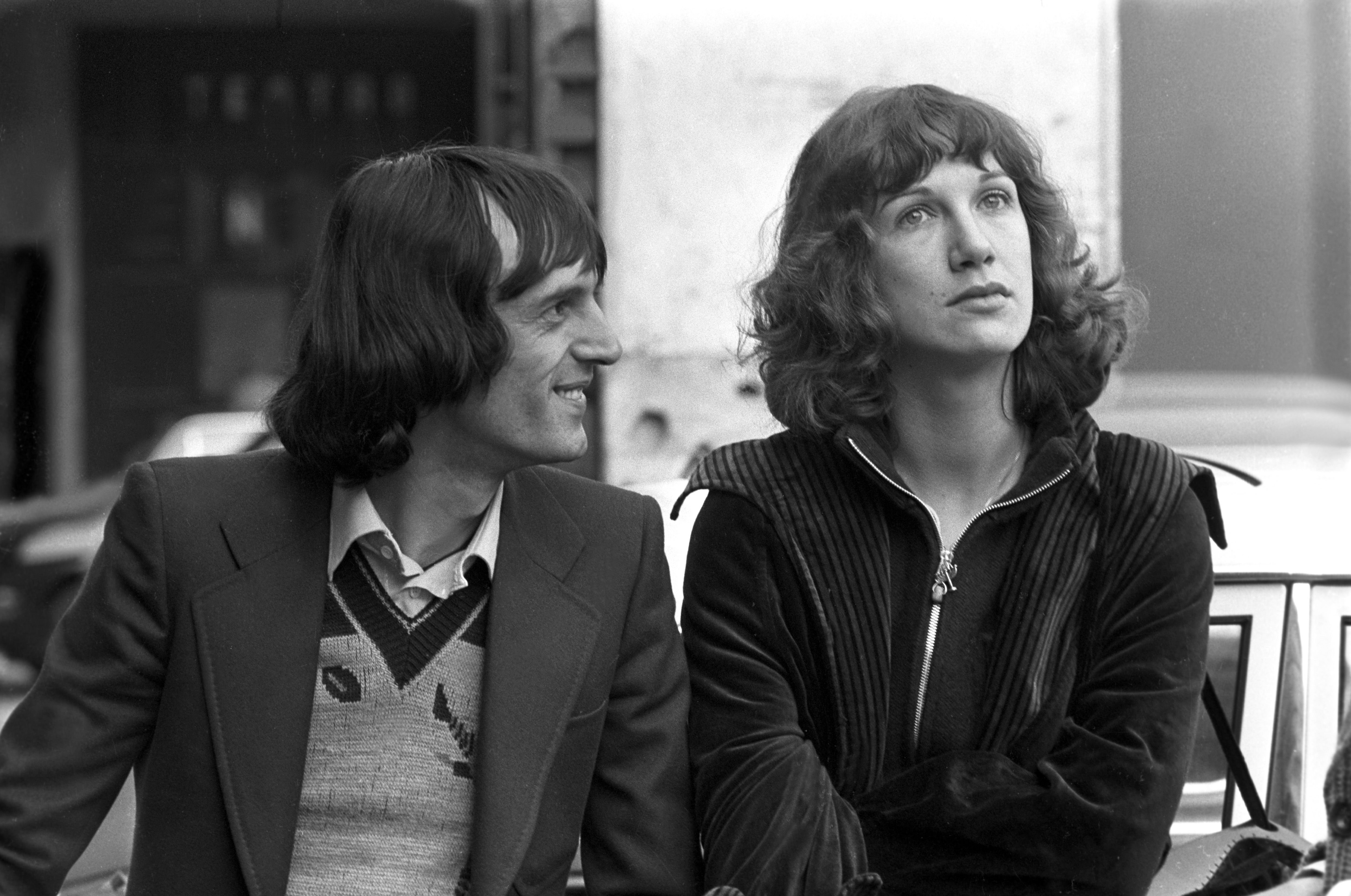 Dario Argento and Italian actress Daria Nicolodi on the set of Deep Red in 1975.   Photo: Getty Images