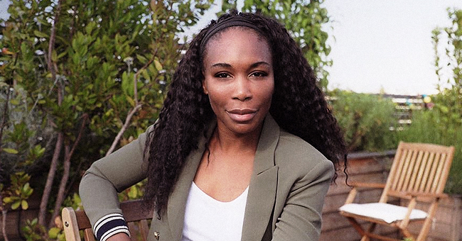 Venus Williams Is Chic yet Casual in White Outfit & Waist Length Braids