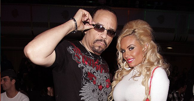 Ice-T's 2nd Wife Floors Fans Showing Her Sculpted Figure in Silk Belted Dress & High Black Heels
