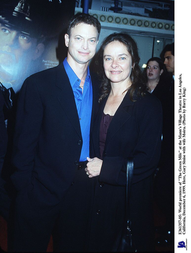 "Gary Sinise With Wife Moira at the World Premiere Of ""The Green Mile"" At The Mann's Village Theatre In Los Angeles, California, December 6, 1999. 